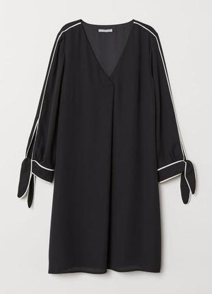 Модне плаття із зав'язками h&m