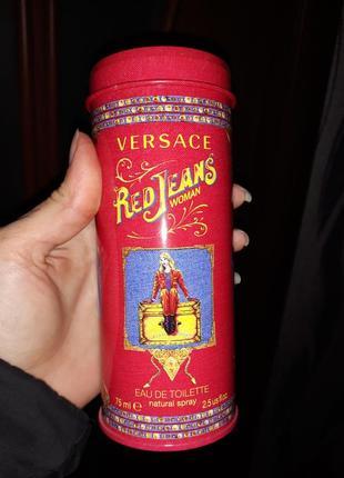 Туалетная вода/духи versace red jeans