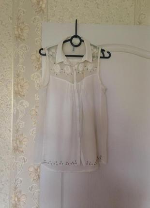 Милая блузка stradivarius