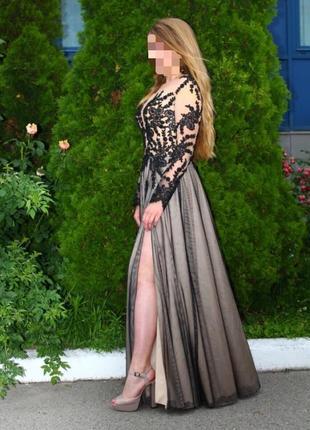 Шикарное платье на выпускной или торжественный случай