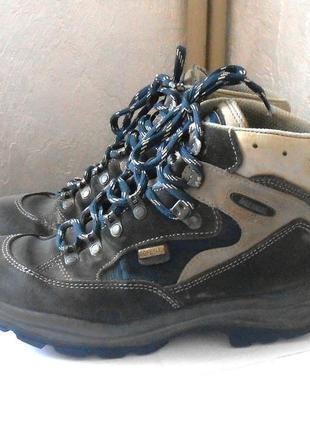 Замшевые спортивные ботинки / высокие кроссовки meindl, р.40 код n4037