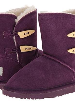 Сапоги ботинки угги  ugg aussie merino 27 р 9 р 17 см замш овчина2 фото