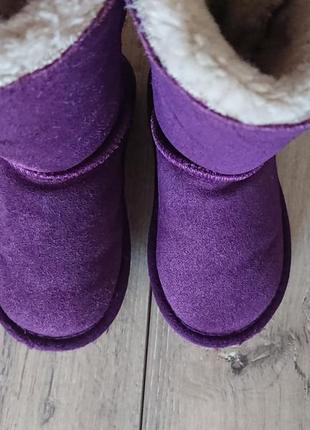 Сапоги ботинки угги  ugg aussie merino 27 р 9 р 17 см замш овчина8 фото