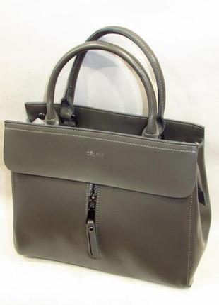 efc84f4f5a01 Красивая кожаная сумка женская тауп серая celine из натуральной кожи  стильная
