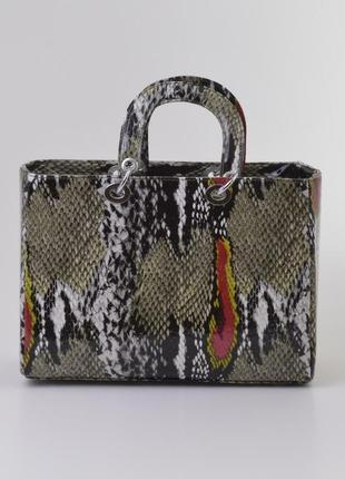 Тренд сезона сумка питон женская / жіноча