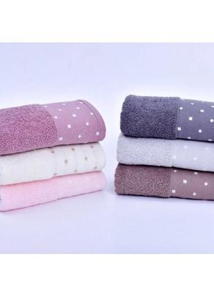 Банные  махровые полотенца премиум качества 6 шт