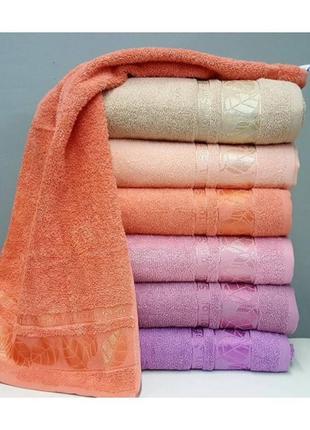 Банные махровые полотенца премиум качества, турция, 6 штук