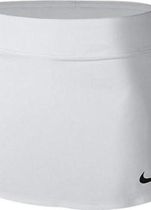 Nike юбка белая теннис
