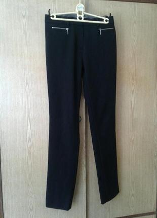 Женские черные вискозные брюки, м.