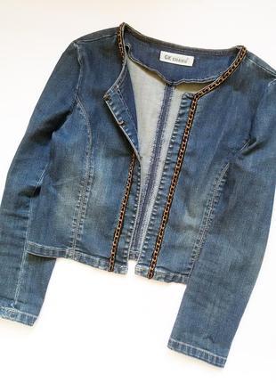Крутая джинсовка1 фото