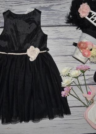 4 - 5 лет 110 см h&m фирменное обалденно нарядное пышное платье сарафан