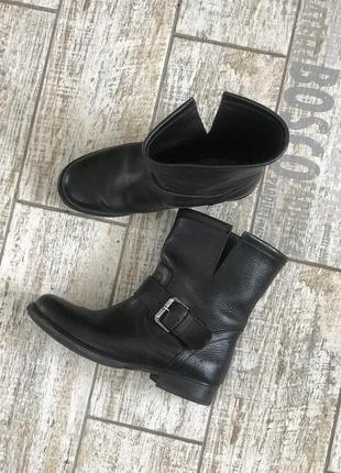 Кожаные ботинки fabio rusconi#демисезонные ботинки