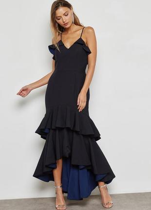 ‼️sale‼️эксклюзивное вечернее выпускное платье с оборками
