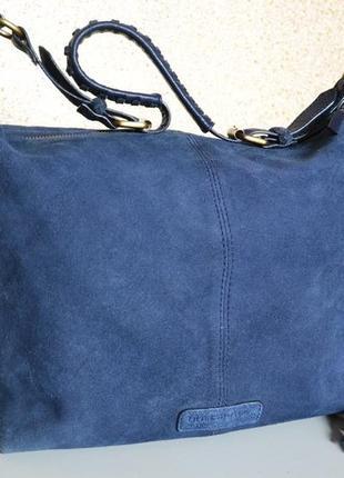 Debenhams кожаная замшевая сумка индия
