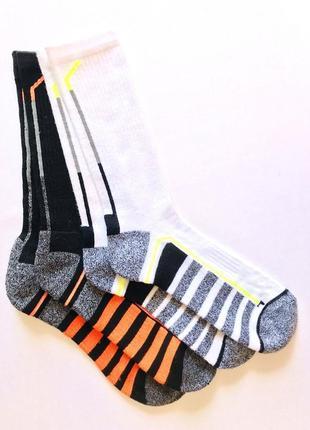 Комплект 2пары. мужские спортивные высокие носки, primark, 40-44