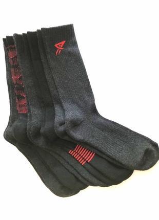 Комплект 5 пар. мужские спортивные высокие носки, primark, 40-44