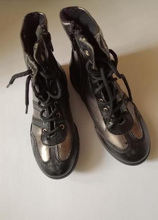 Ботинки made in italy, размер 30
