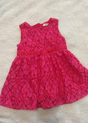 Нарядное платье для девочки 6мес.