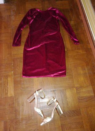 Бархатное платьице