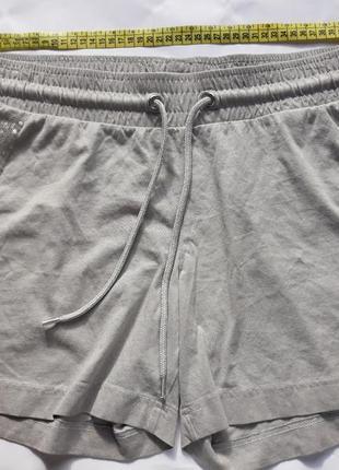 Светло-серые шорты из органического хлопка от тсм tchibo (германия) евро 40/42 (наш 46/48)