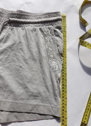 Светло-серые шорты из органического хлопка от тсм tchibo (германия) евро 40/42 (наш 46/48)2 фото