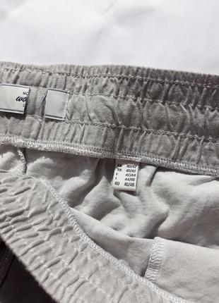Светло-серые шорты из органического хлопка от тсм tchibo (германия) евро 40/42 (наш 46/48)3 фото