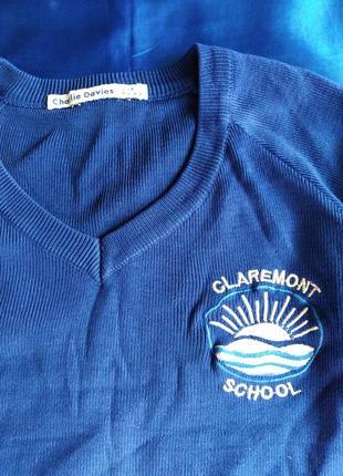 Джемперок для школы на 6-7 лет.
