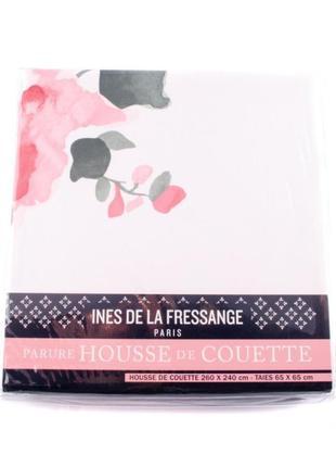 Комплект постельного белья ines de la fressange idlf004 белого/комбинированного цветов