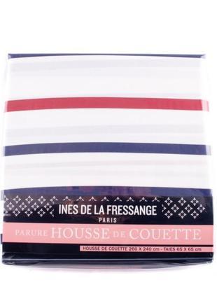 Комплект постельного белья ines de la fressange idlf002 белого/комбинированного цветов