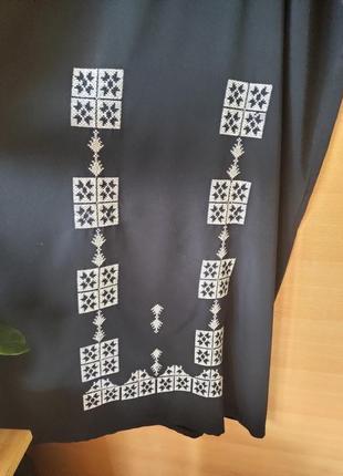 Чёрное длинное платье / абая  / галабея2 фото