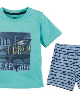 Летняя пижама для мальчика lupilu код. 180411