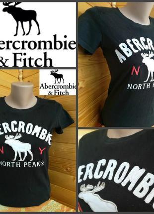 Футболка от abercrombie & fitch, оригинал, р.s, пр-во гонконг