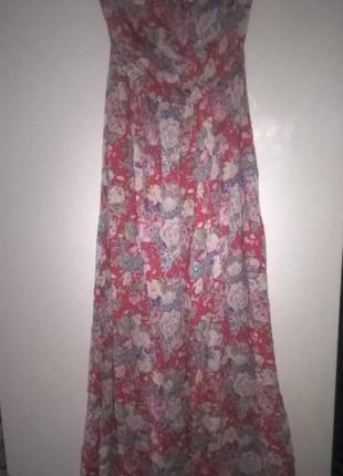 Фирменное, длинное платье,12