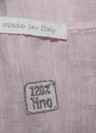 Льняное платье made in italy5 фото