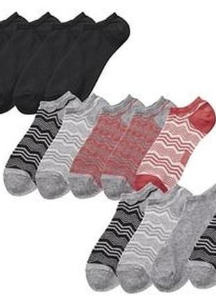 Наборы тонких летних носков esmara германия. в наборе 5 штук.