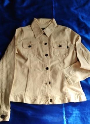 Красивая вельветовая куртка mng весна/осень. 7-9лет.