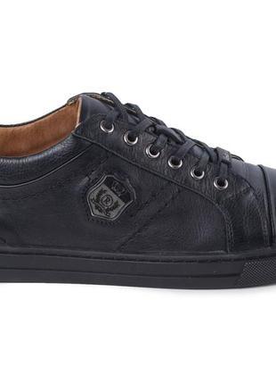 Мужские спортивные кроссовки, туфли  rondo из натуральной кожи2 фото