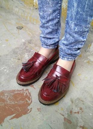 Крутые лоферы, туфли