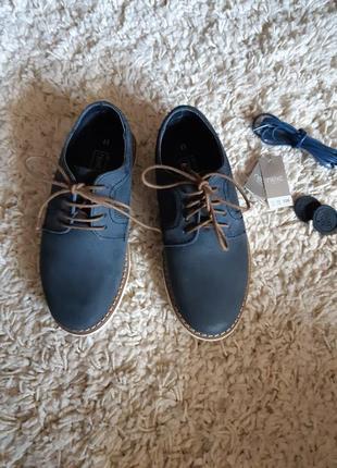 Продам кожаные туфли фирмы next uk 11 eu 29 на ножку до 18.5см