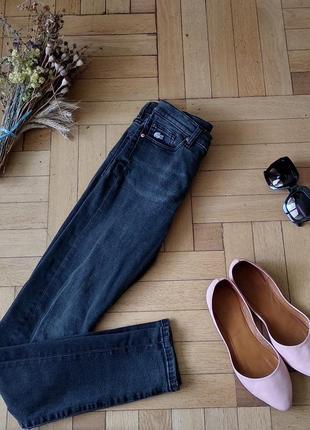 Фирменные джинсы  скинни от lacoste live, 26 размер, оригинал