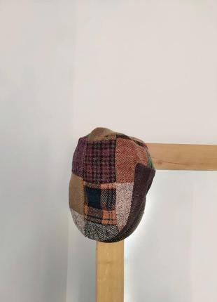 Настоящая твидовая кепка фуражка жиганка foxford ( harris tweed )
