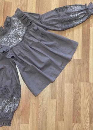 Блуза с вышивкой new look2