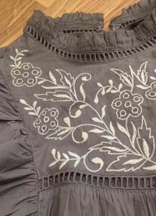 Блуза с вышивкой new look4