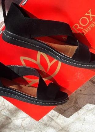 Распродажа!!! босоножки  замша туфли открытые подошва танкетка с блеском глиттер3 фото