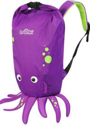 Trunki рюкзак paddlepak octopus (фиолетовый осьминог) детский
