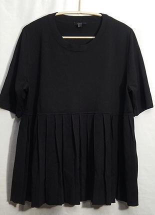Cos, блуза кофта черная вискоза