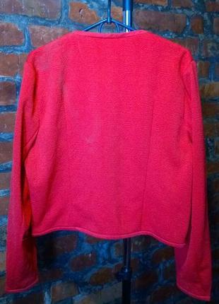 Легкая куртка блейзер жакет из фактурного неопрена с набивным узором atmosphere3 фото