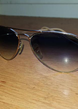 Очки ray ban aviator 30252 фото