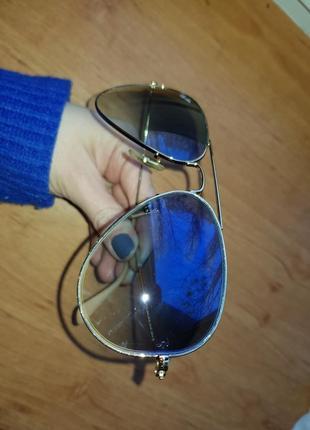 Очки ray ban aviator 30253 фото