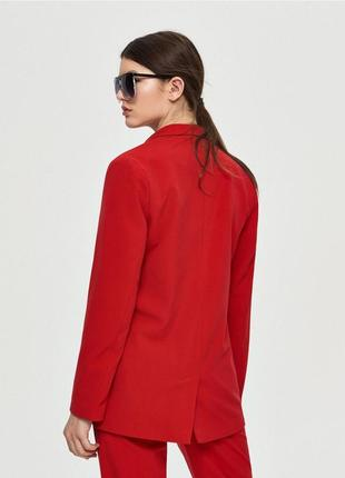 Красный брючный костюм скидка только 3 дня!!!!!2 фото